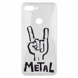Чехол для Xiaomi Mi8 Lite Metal - FatLine