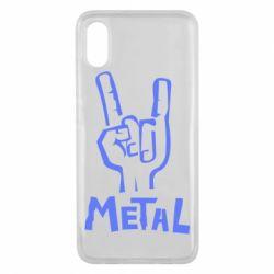 Чехол для Xiaomi Mi8 Pro Metal