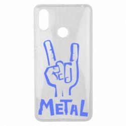 Чехол для Xiaomi Mi Max 3 Metal - FatLine