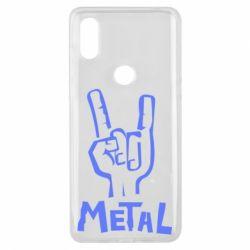 Чехол для Xiaomi Mi Mix 3 Metal