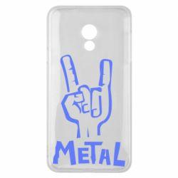 Чехол для Meizu 15 Lite Metal - FatLine