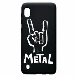 Чехол для Samsung A10 Metal