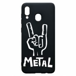 Чехол для Samsung A30 Metal