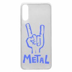 Чехол для Samsung A70 Metal