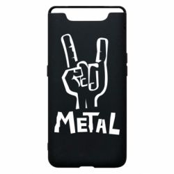 Чехол для Samsung A80 Metal