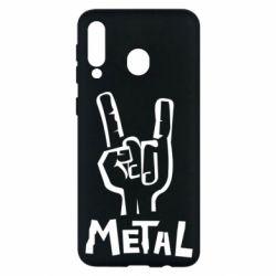 Чехол для Samsung M30 Metal