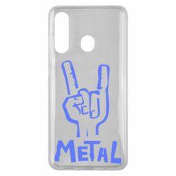 Чехол для Samsung M40 Metal