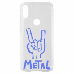 Чехол для Xiaomi Mi Play Metal