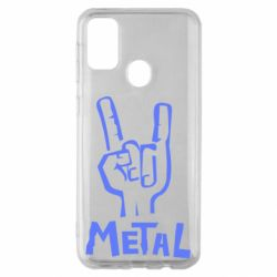 Чехол для Samsung M30s Metal