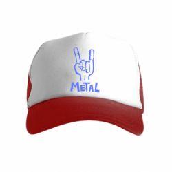 Детская кепка-тракер Metal