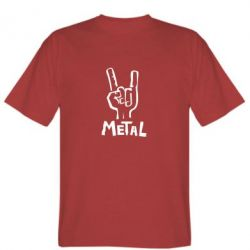 Мужская футболка Metal - FatLine