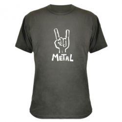 Камуфляжная футболка Metal - FatLine