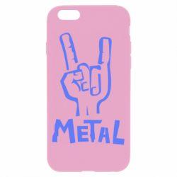 Чехол для iPhone 6/6S Metal - FatLine