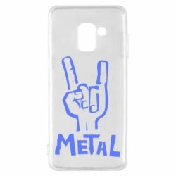 Чехол для Samsung A8 2018 Metal - FatLine