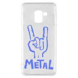 Чехол для Samsung A8 2018 Metal