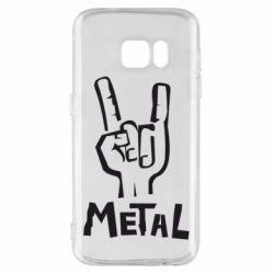Чехол для Samsung S7 Metal - FatLine