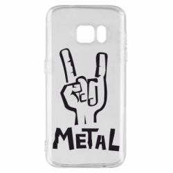 Чехол для Samsung S7 Metal