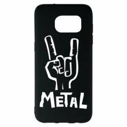 Чехол для Samsung S7 EDGE Metal - FatLine