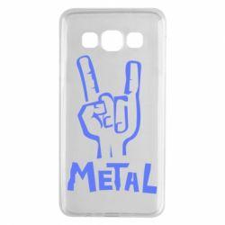 Чехол для Samsung A3 2015 Metal - FatLine