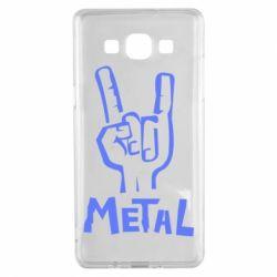 Чехол для Samsung A5 2015 Metal - FatLine