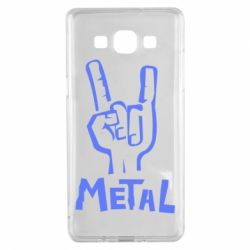 Чехол для Samsung A5 2015 Metal