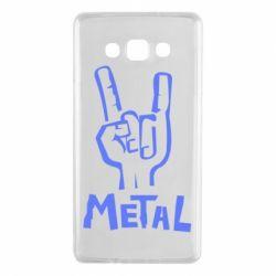 Чехол для Samsung A7 2015 Metal - FatLine