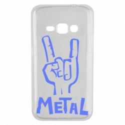 Чехол для Samsung J1 2016 Metal - FatLine