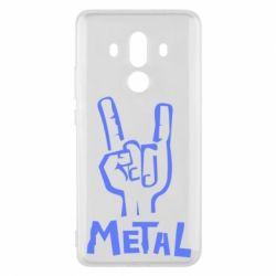 Чехол для Huawei Mate 10 Pro Metal - FatLine
