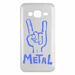 Чехол для Samsung J3 2016 Metal - FatLine