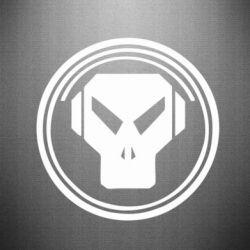 Наклейка metalheadz