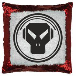 Подушка-хамелеон metalheadz