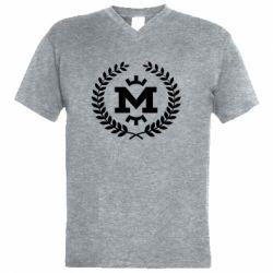 Чоловіча футболка з V-подібним вирізом Metalist spikelets