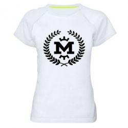 Жіноча спортивна футболка Metalist spikelets