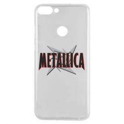 Чехол для Huawei P Smart Metallica Logo - FatLine