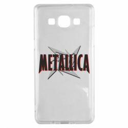 Чохол для Samsung A5 2015 Логотип Metallica