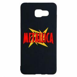 Чохол для Samsung A5 2016 Логотип Metallica