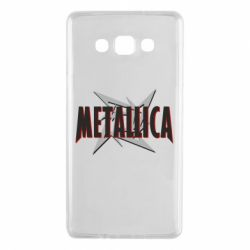 Чохол для Samsung A7 2015 Логотип Metallica