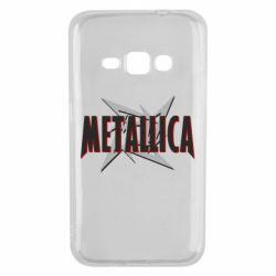 Чохол для Samsung J1 2016 Логотип Metallica