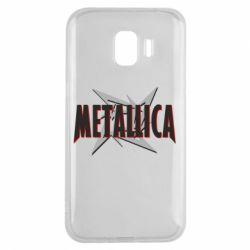 Чохол для Samsung J2 2018 Логотип Metallica