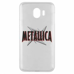 Чохол для Samsung J4 Логотип Metallica