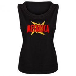 Женская майка Metallica Logo - FatLine