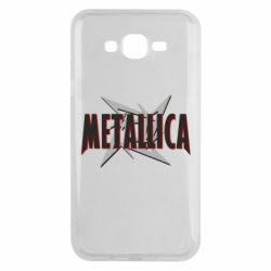 Чохол для Samsung J7 2015 Логотип Metallica
