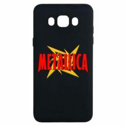 Чохол для Samsung J7 2016 Логотип Metallica