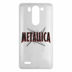 Чехол для LG G3 mini/G3s Metallica Logo - FatLine
