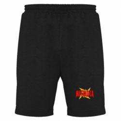 Мужские шорты Metallica Logo - FatLine