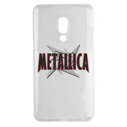 Чехол для Meizu 15 Plus Metallica Logo - FatLine
