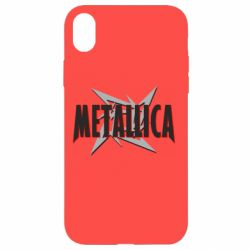 Чехол для iPhone XR Metallica Logo