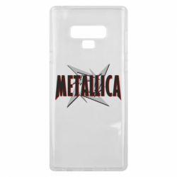 Чохол для Samsung Note 9 Логотип Metallica