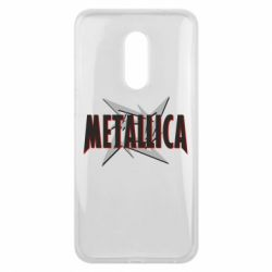Чехол для Meizu 16 plus Metallica Logo - FatLine