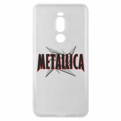 Чехол для Meizu Note 8 Metallica Logo - FatLine